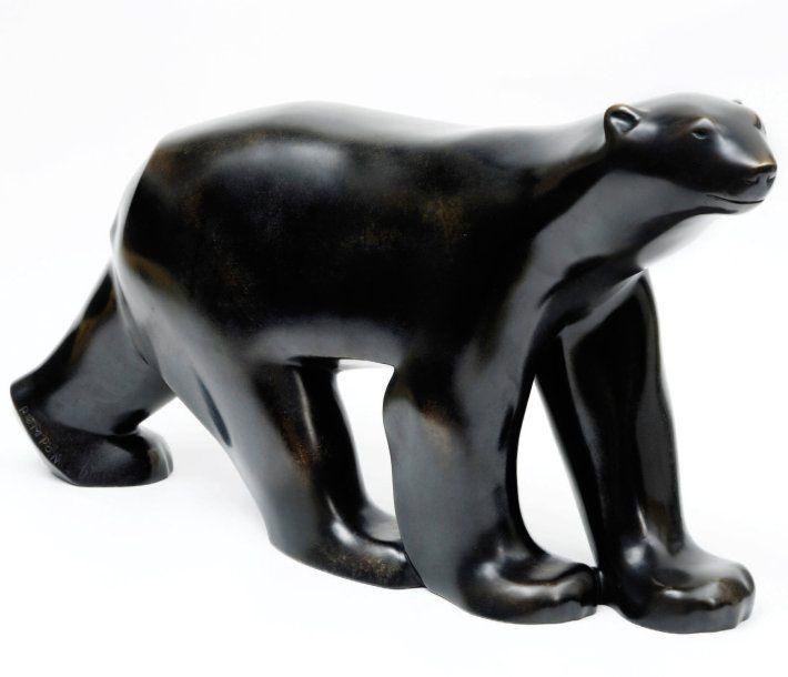 François Pompon, L'ours Blanc en bronze, Art Moderne (Musée d'Orsay) 1922 #essentialityshaped
