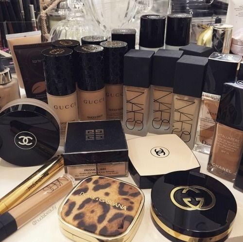 Makeup Collection Foundation NARS Chanel Gucci MAC Dolce & Gabbana