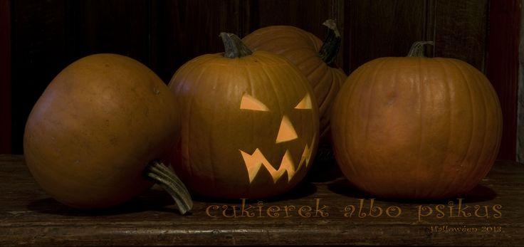 Halloween pumpkins, cukierek albo psikus #Halloween #2013 #Trick or #Treat #pumpkin