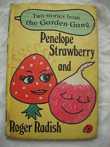 Penelope Strawberry and Roger Radish #retrobooks