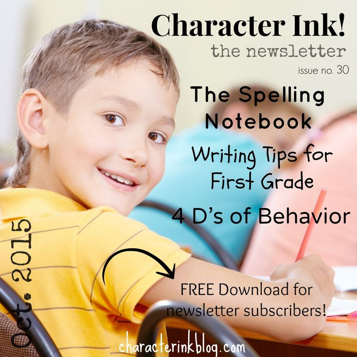 Character Ink Newsletter no. 30