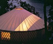 Pacific Yurts     Solar Skylight Arc -- If you thrive on an abundance of natural light, the Solar Arc is the answer to your dreams. This durable, translucent vinyl roofing fabric allows diffused light to bathe the interior of your yurt. It takes advantage of natural lighting and is perfect for artists' studios and remote locations without electricity. Recommended for moderate climates. Available in the standard Top Cover only.