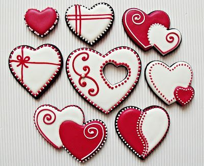 Citromhab: Valentin-napi kekszek