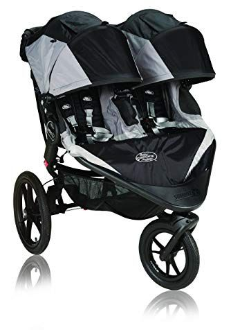 Baby Jogger 2013 Summit X3 Double Stroller Black Prior Model