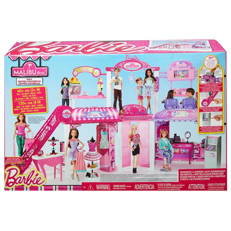 "Barbie Shopping Mall Playset - Mattel - Toys ""R"" Us (this will be 50% off on 12/17 in store) - xmas present"