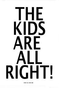 The kids are all right-Poster.