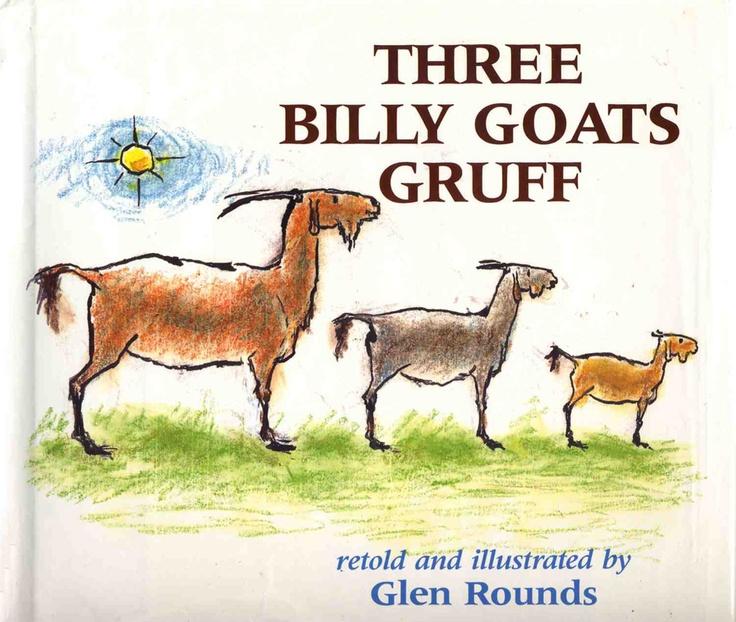Three Billy Goats Gruff, Glen Rounds