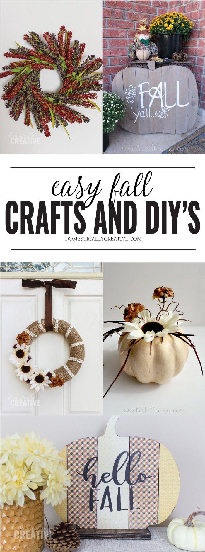 1104 best Fall/Autumn Ideas images on Pinterest   Diy fall crafts ...