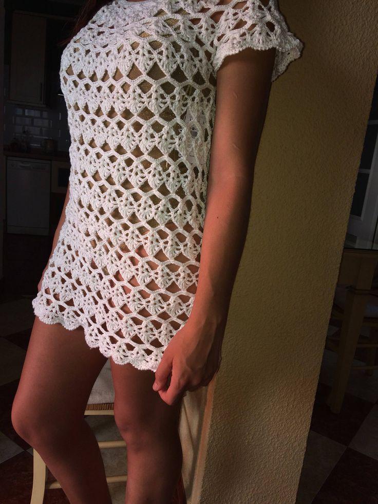 Vestido especial verano,hecho a mano en crochet de VivoTejiendo en Etsy https://www.etsy.com/es/listing/542496727/vestido-especial-veranohecho-a-mano-en