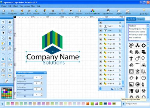 LogoSmartz Logo Design Software