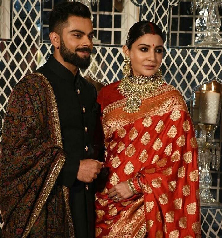 Bride and groom wear for Reception! indianwedding