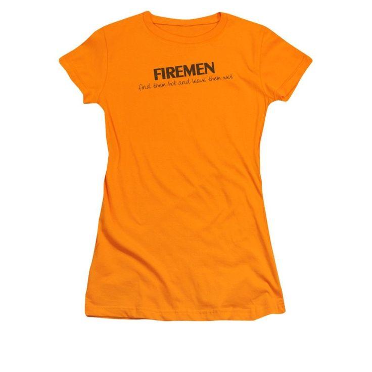 Firemen Do It...hot & Wet Junior T-Shirt