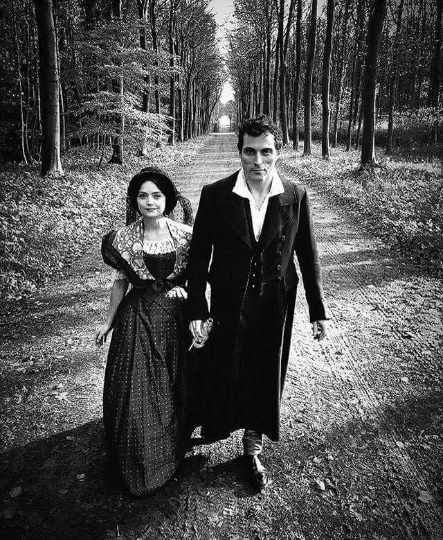 Rufus Sewell - Jenna Coleman  Victoria and Lord M