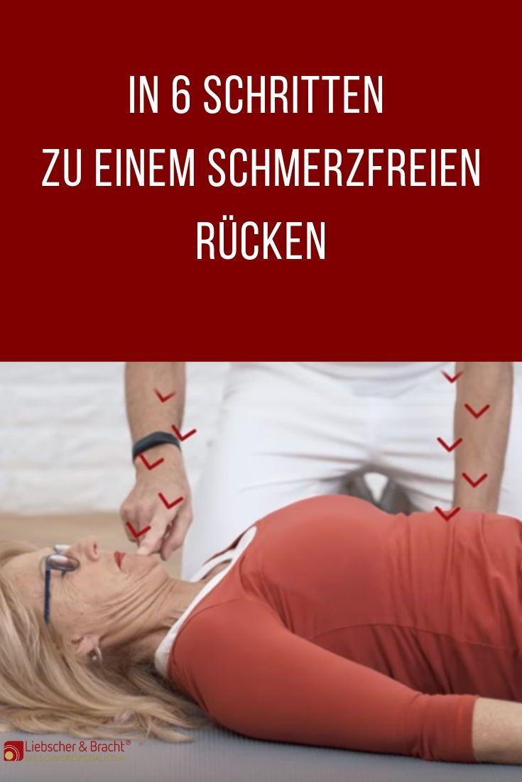 In 6 Schritten zu einem schmerzfreien Rücken
