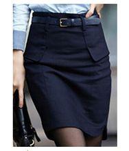 Новинка модный тонкий женская юбка бедра свободного покроя дамы юбка формальные рабочая одежда офис юбки женские шорты с поясом Большой размер(China (Mainland))