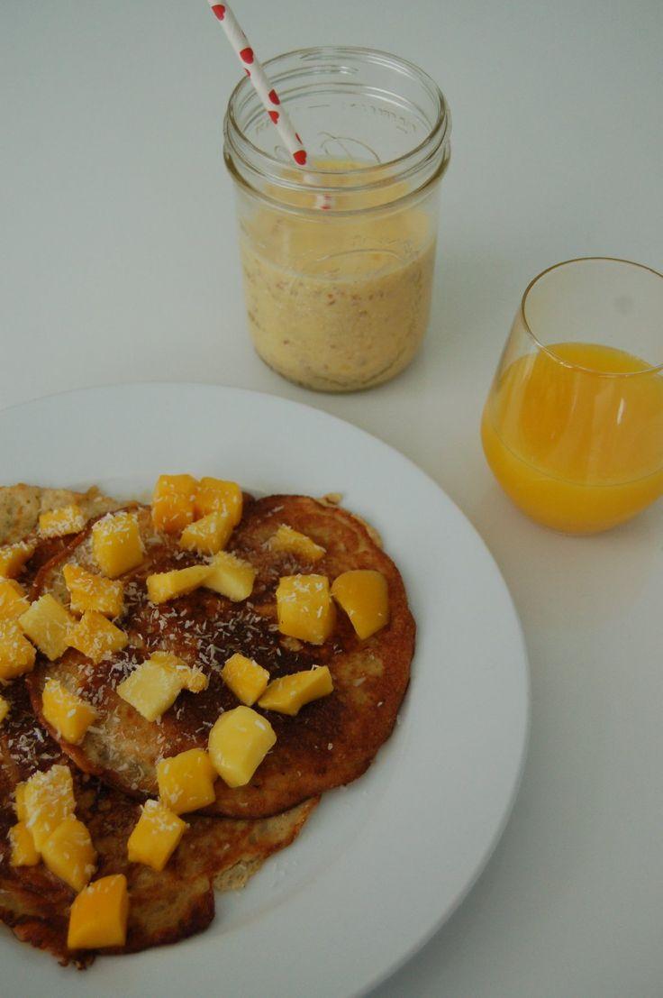Skinny+bananen+pannenkoekjes