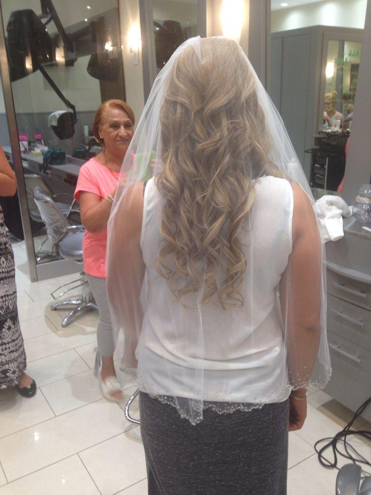 Bride before the wedding!
