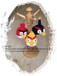 ZUZUMUN DÜNYASI: Angry Birds Serisi Anahtarlıklarım