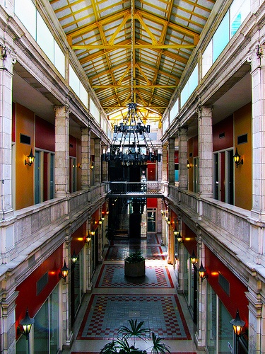 The Arcade Mall. @Lisa Manuels, check out the colors!