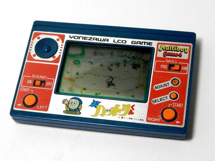 Yonezawa LCD Game Watch Japan Anime Ninja Hattori-kun MIJ 1982 Good Condition_16 #Yonezawa