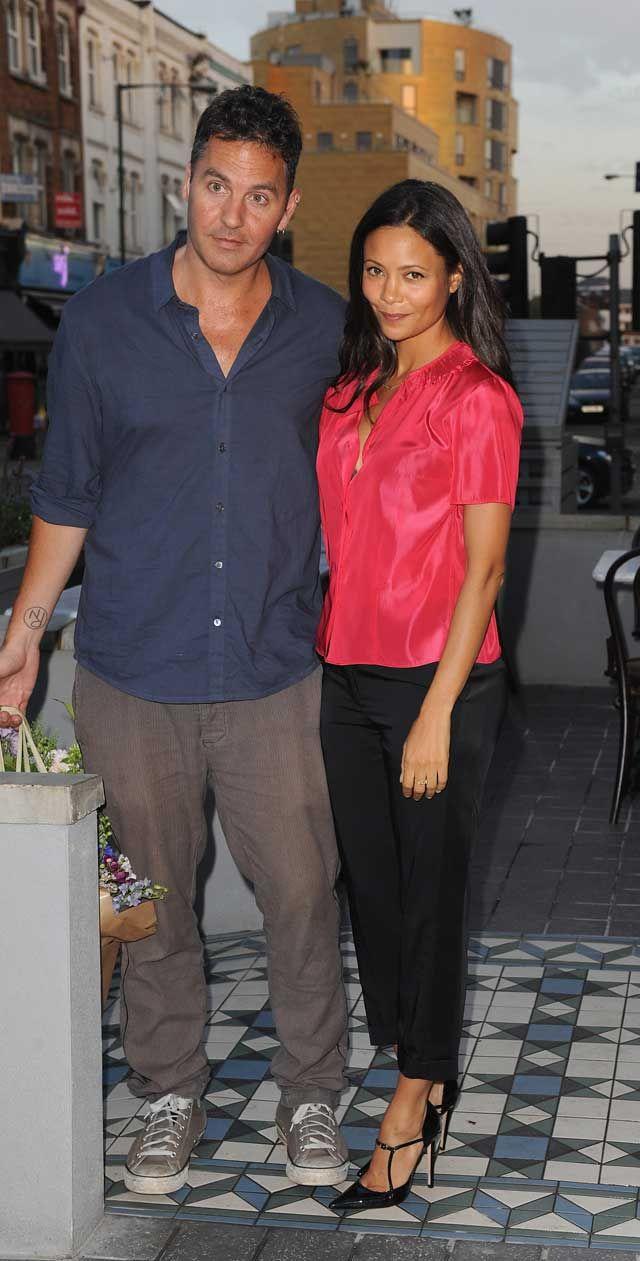 thandie newton husband   Thandie Newton and husband Ol Parker attend Madame Gautier restaurant ...