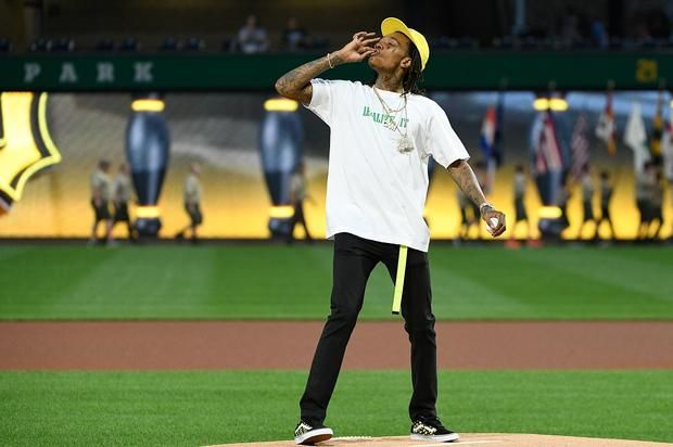 "Wiz Khalifa's First Pitch Weed Gesture ""Should Not Have Happened"" Says MLB"