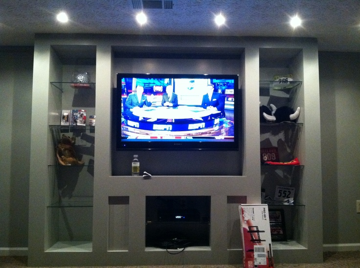 Man Cave Entertainment : Best contemporary wall units and home entertainment