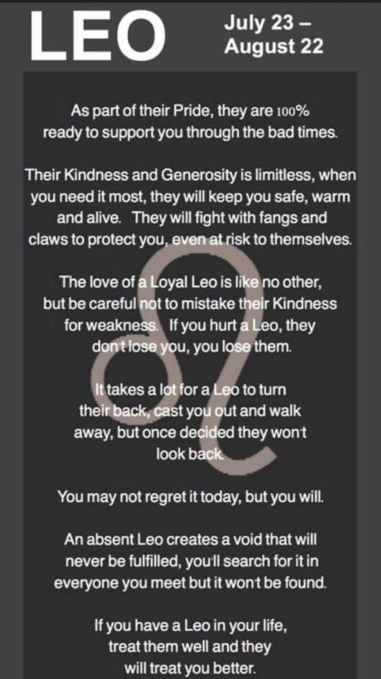 This is why I think Leo and Pisces are the perfect match.