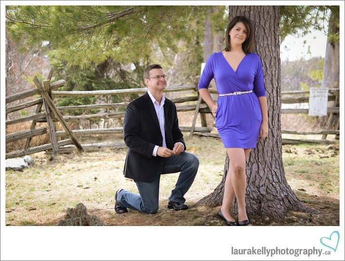 proposal during photo shoot. great idea. beautiful images and capturing the memories by Laura Kelly