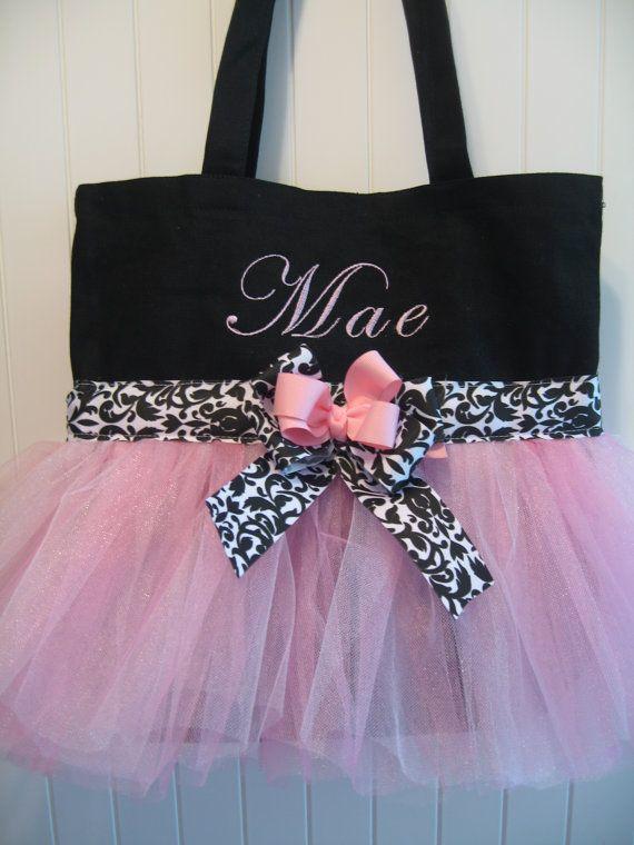 What a cute little dance bag