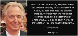 Resultado de imagen de alexander technique quotes