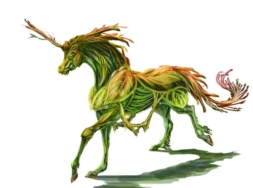 Sylvari Unicorn from guild wars 2
