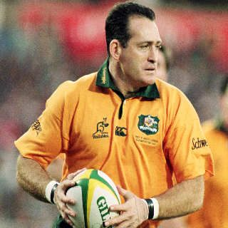 David Campese - Rugby Union.
