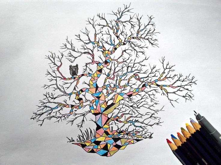 Geometric Tree by Johannes Koski