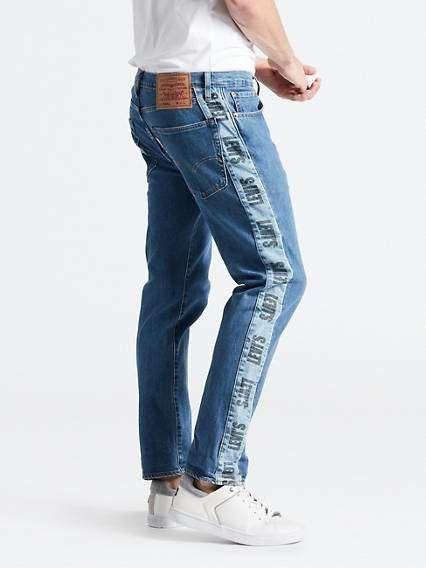 ec0449d8b49 Hi-Ball Roll Logo Stripe Men's Jeans in 2019 | Products | Jeans ...