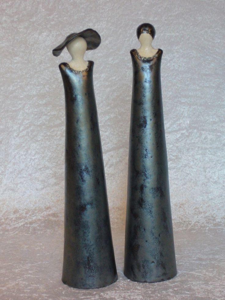 Twee vrouwen, 38 cm