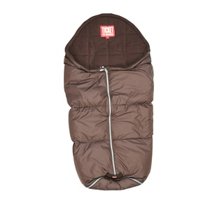 Sleeping bag - brown - perfect for the baby buggy on a cold day