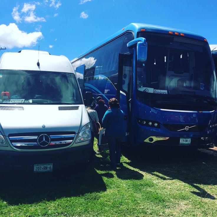 A punto de salir hacia #Zacatlan #Puebla www.buscandoenveracruz.com #excursion