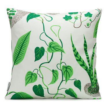 Pillow with Josef Frank fabric.