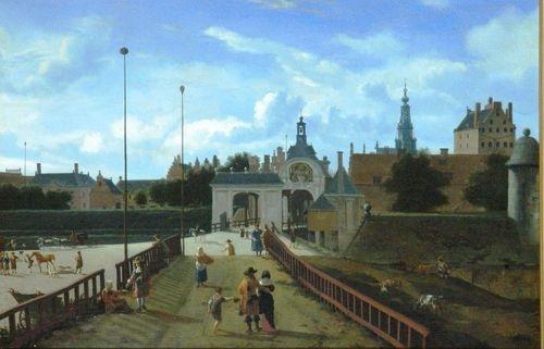 Jan van der Heyden, Saint Anthonies Gate in Amsterdam