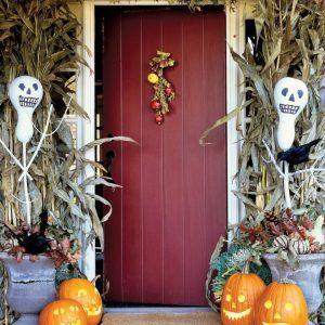 Outdoor Halloween Decorating Ideas Martha Stewart