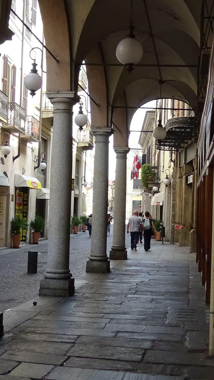 """""""I Portici"""" in Novara city"""