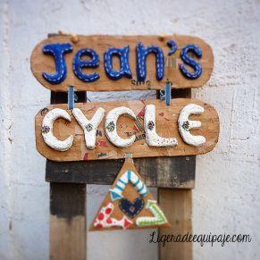 Jean Cycle! proyecto de reciclaje de denim de Ana Maria Montoya, artista