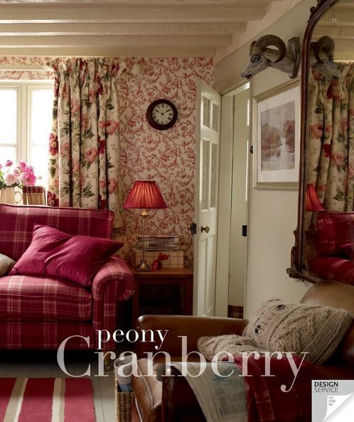 Laura Ashley ♥ cranberry