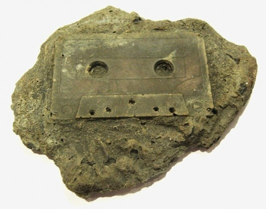 fossilMusic, Old Schools, Cassette Tape, Modern Fossils, Christopher Locks, Funny Stuff, Humor, Things, Cassette Fossils