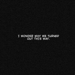 i wonder.. - black and white - monochrome - Manga Caps