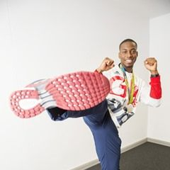 "Lutalo Muhammad Taetwondo attends the Copper Box Event ""I am GB"""