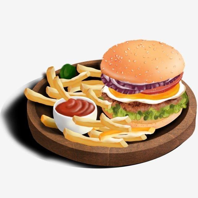 Hamburguesa Y Patatas Fritas Burger Clipart Papas Fritas Clipart Elemento Png Y Psd Para Descargar Gratis Pngtree Food Burger And Fries Food Png