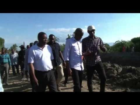 Haiti News - Toune Prezidan Jovenel Moïse nan Vale Latibonit Jounen 30 Mas 2017 la