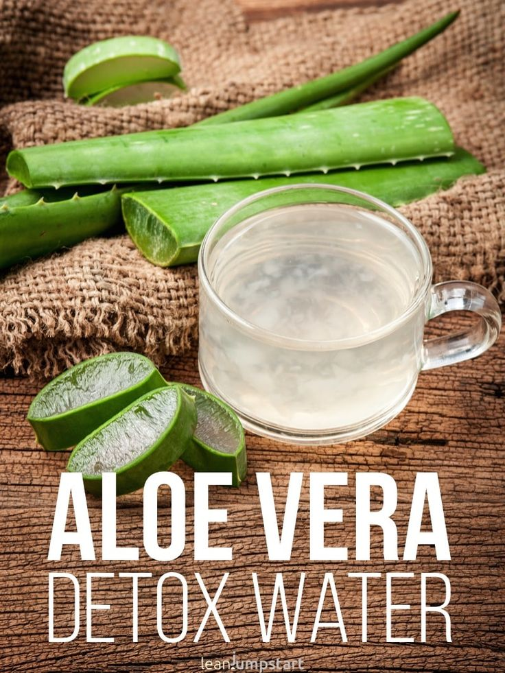 Aloe vera water Detox Water: Top 24 clean recipes to boost your metabolism